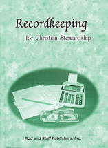 Record keeping for christian stewardship