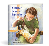 A kitten named birthday