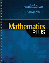 Mathematics plus answer key