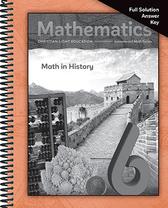 Mathematics 6   math in history full solution key