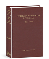 History of mennonites in virginia