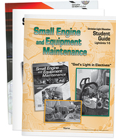 Small engine and equipment maintenance student material