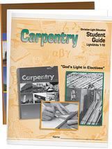 Carpentry student materials