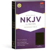 Nkjv ultrathin reference bible leathertouch