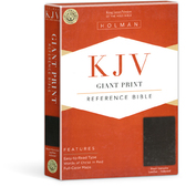 Kjv giant print reference bible indexed