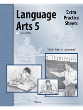 Language arts 5 extra practice sheets se2