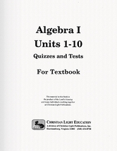 Algebra i textbook edition quizzes and tests