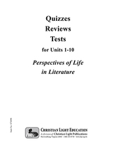 Literature i quizzes  reviews  and tests