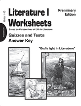 Literature i worksheets quizzes tests ak