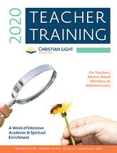 Teacher training brochure