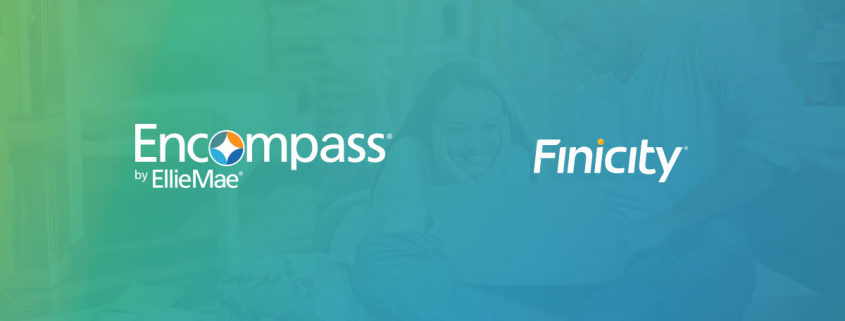 Finicity Integration With Ellie Mae Encompass Digital Lending Platform Now Live