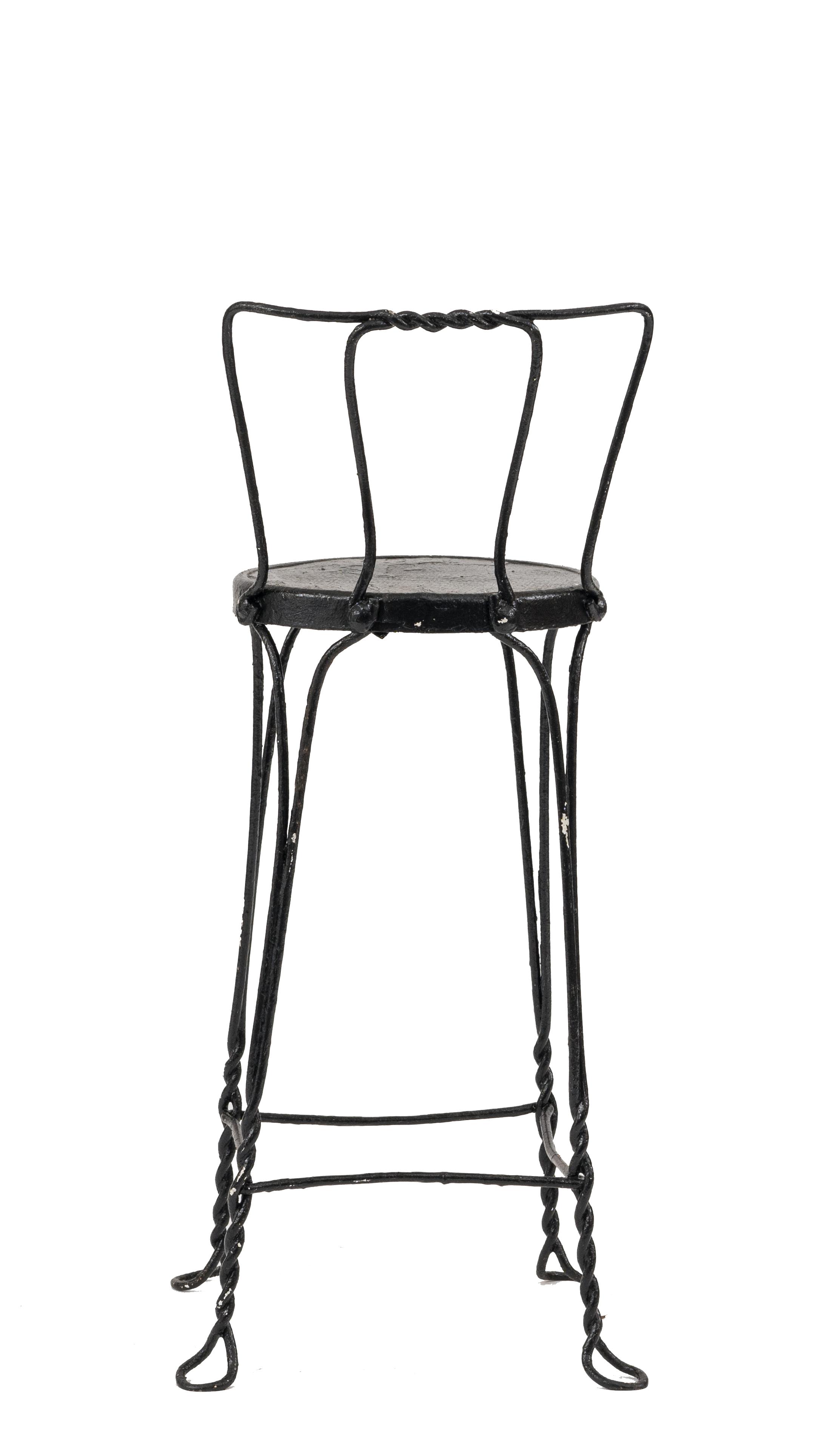 Marvelous Outdoor Victorian Wire Bar Stools Newel Inzonedesignstudio Interior Chair Design Inzonedesignstudiocom