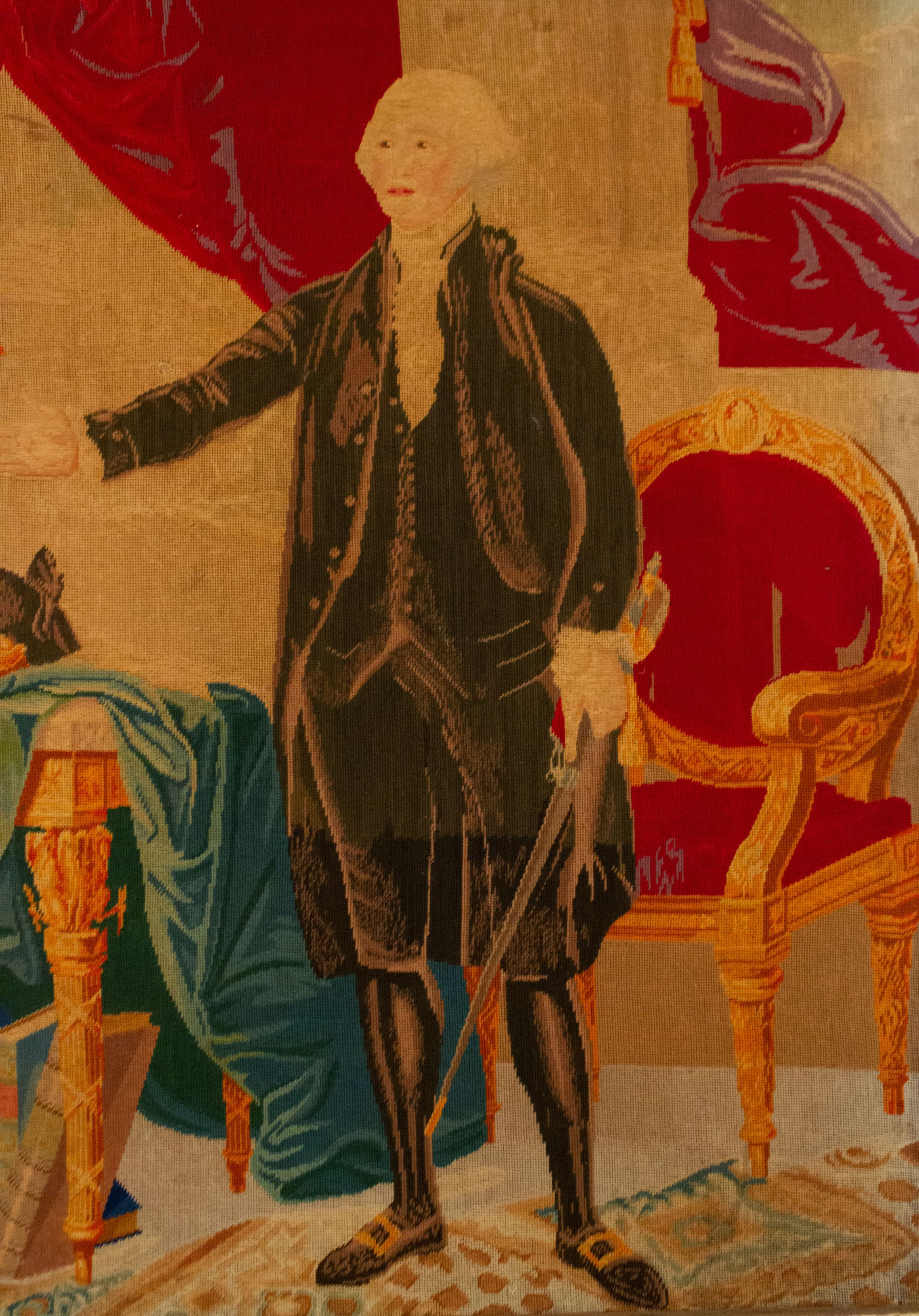 Landmarks: George Washington Unclothed