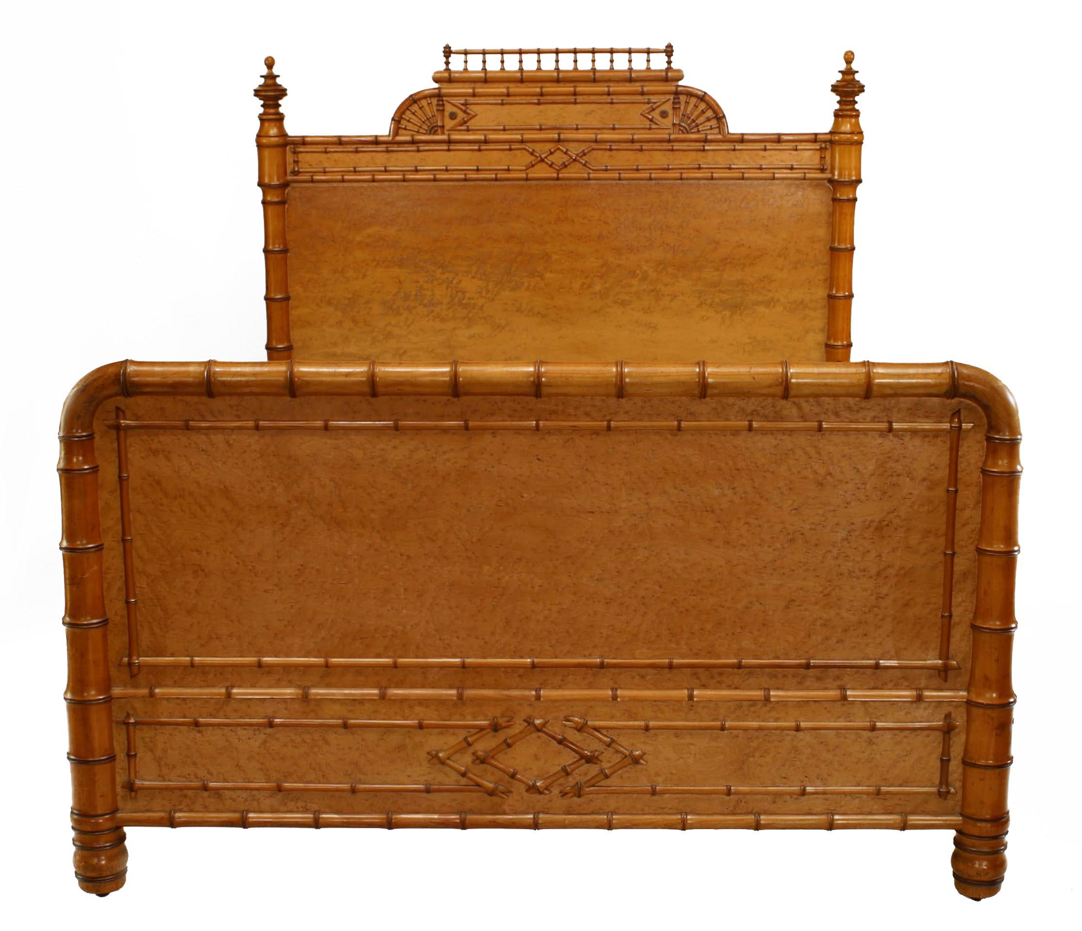 Amercian Victorian Maple Full Bed