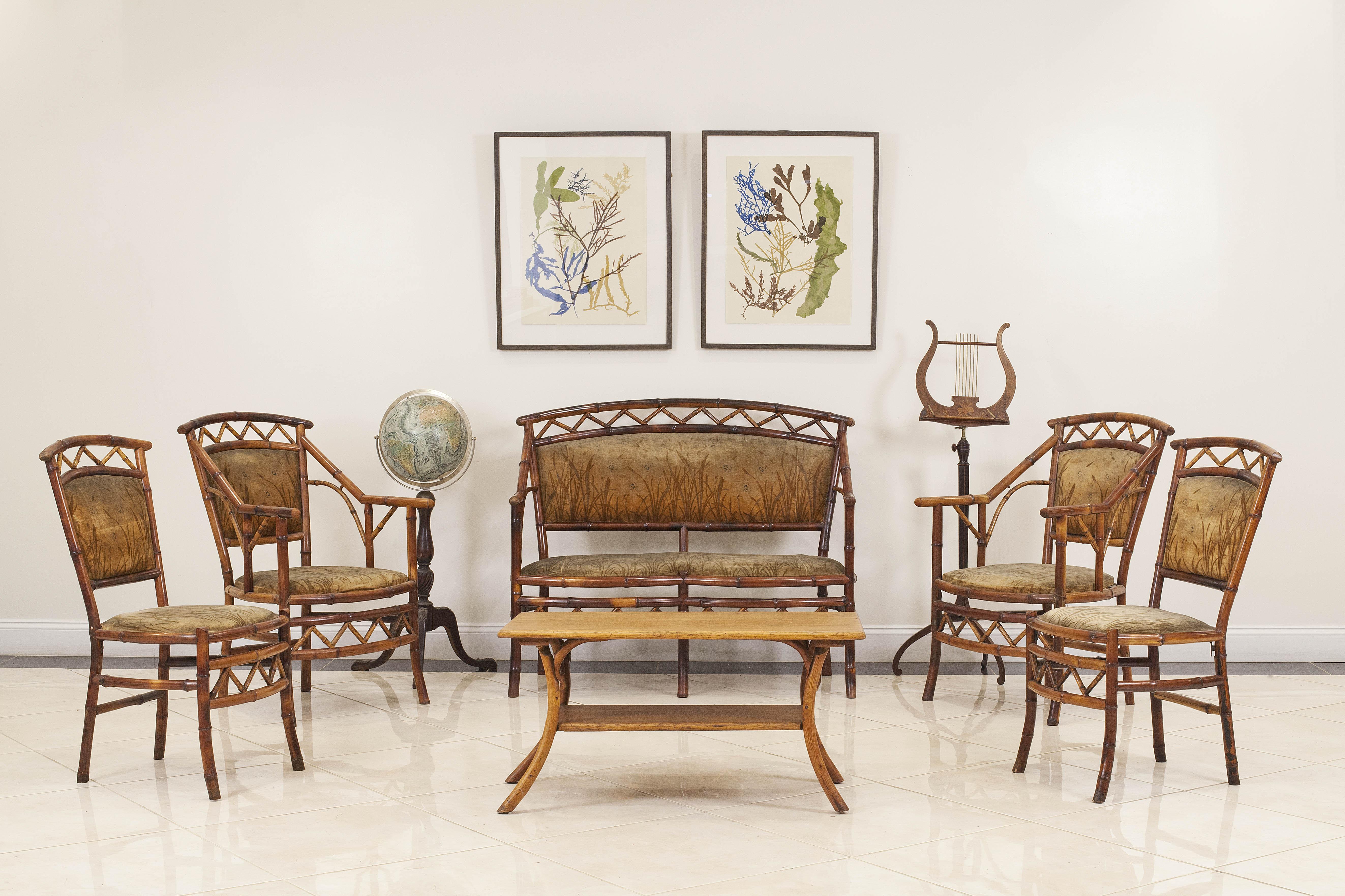 French green velvet living room set | NEWEL