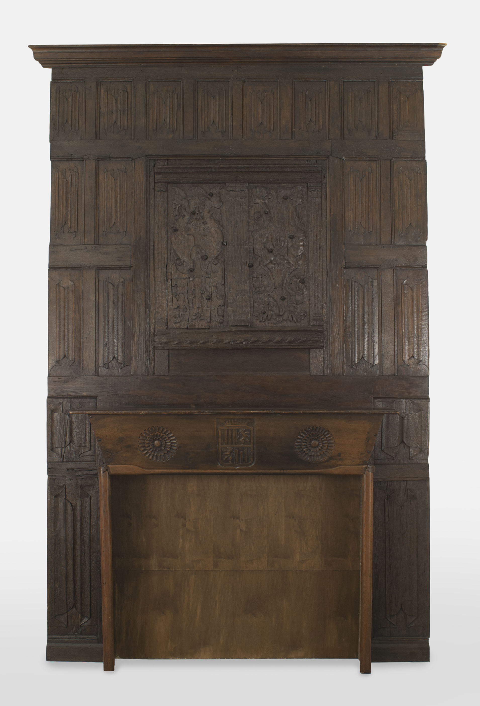 Oak Paneled Room: English Renaissance Carved Oak Paneled Rooms