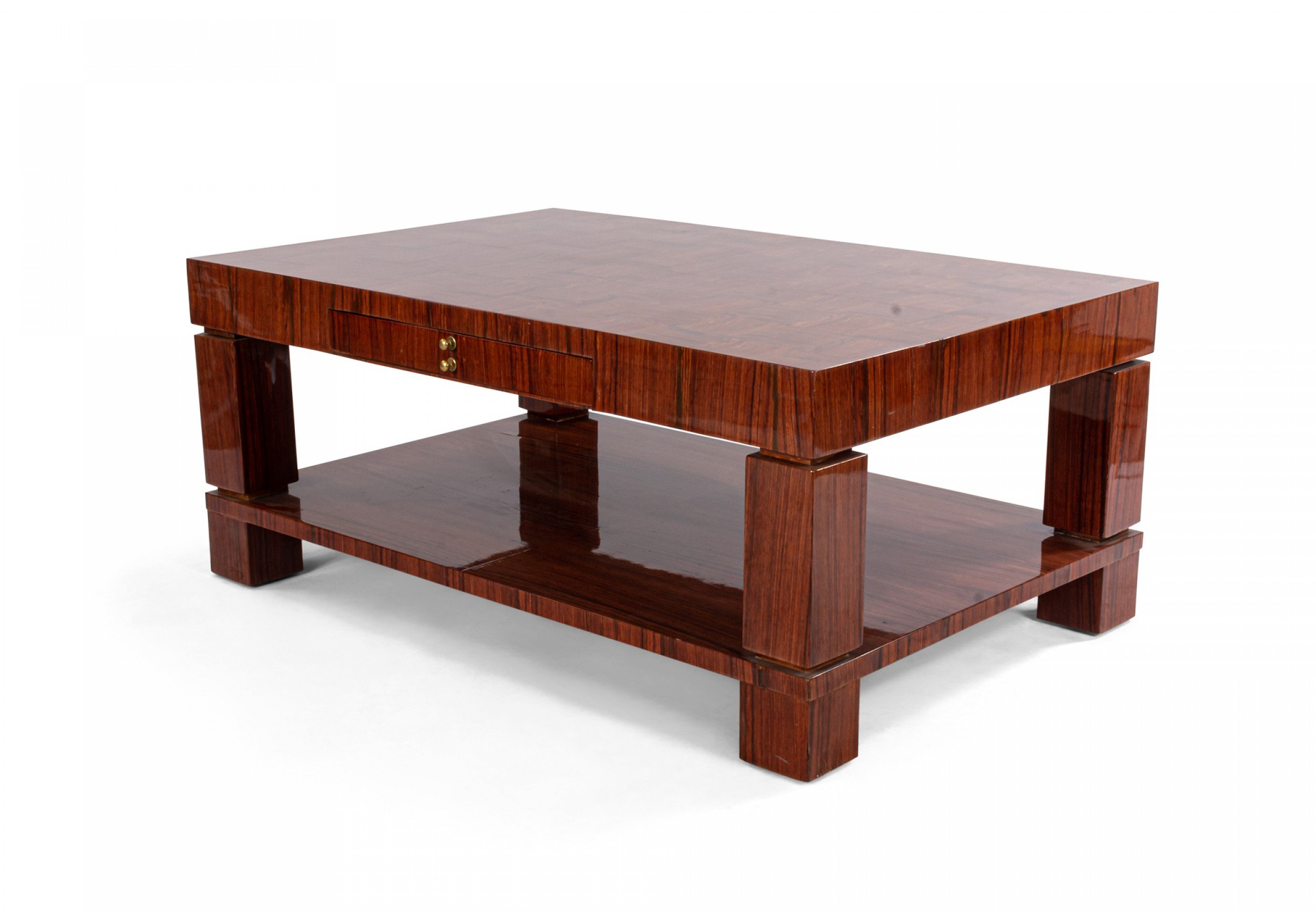 Table Coffee Table Mid Century French Rosewood 061210