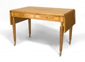 Prime French Charles X Birdseye Maple Davenport Table Newel Customarchery Wood Chair Design Ideas Customarcherynet