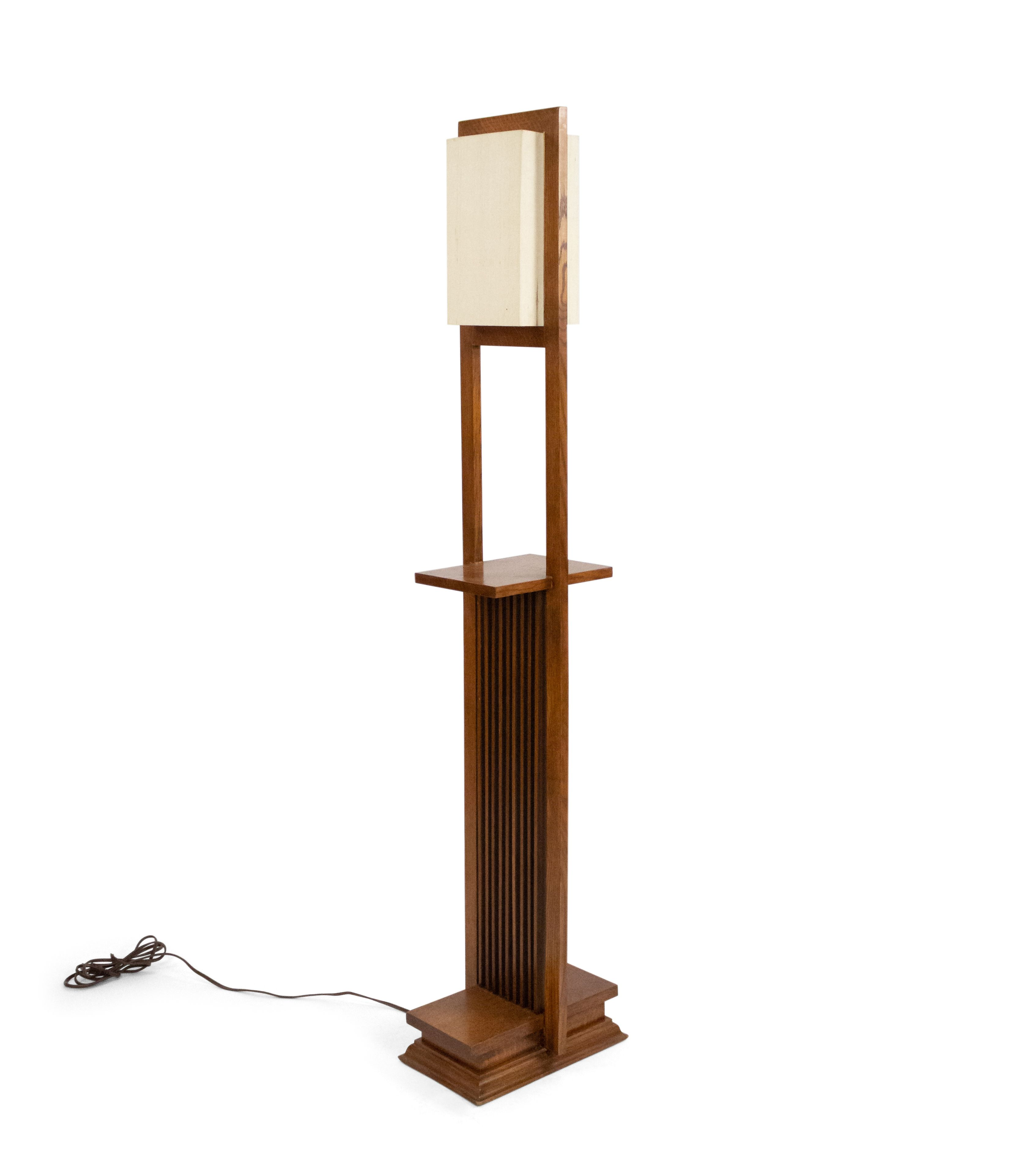American Mission Frank Lloyd Wright Floor Lamp 1