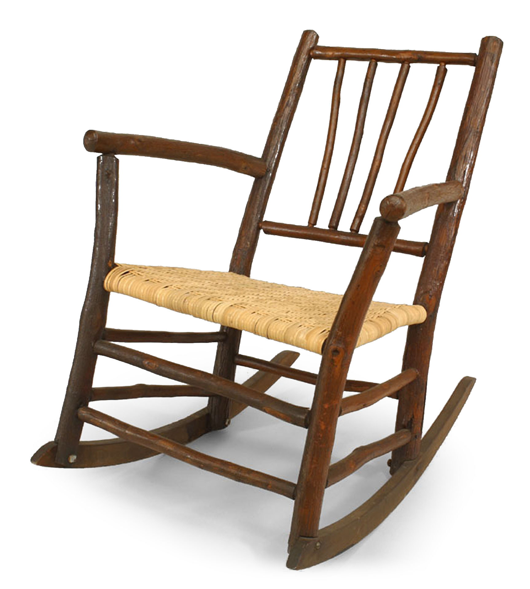 American Rustic Old Hickory Rocking Chair