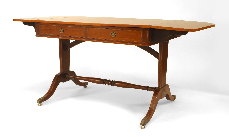 Magnificent English Sheraton Mahogany Davenport Table Newel Customarchery Wood Chair Design Ideas Customarcherynet