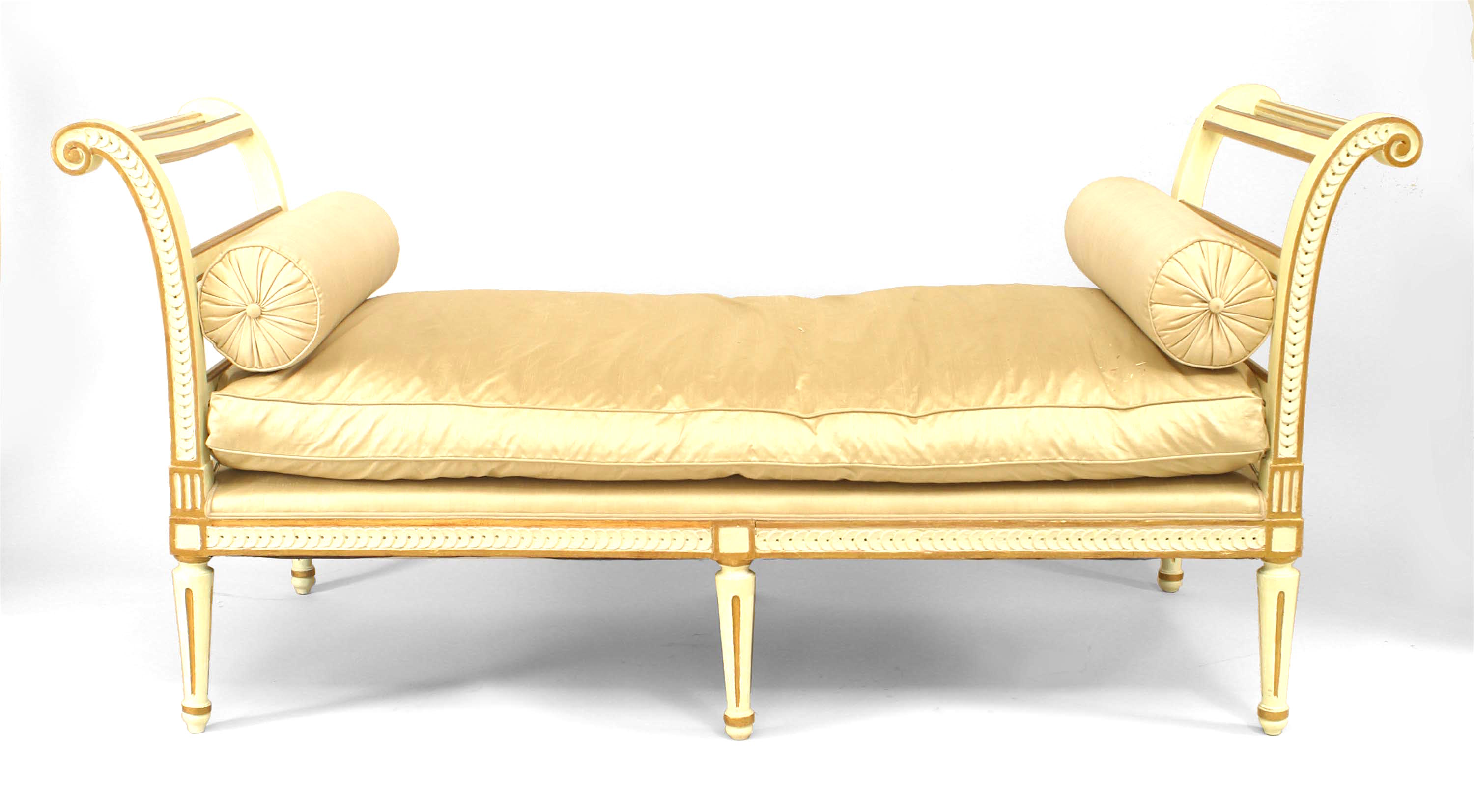Superb Italian Neo Classic Upholstered Daybed 1 Newel Cjindustries Chair Design For Home Cjindustriesco