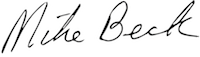 Mike Beck Signature