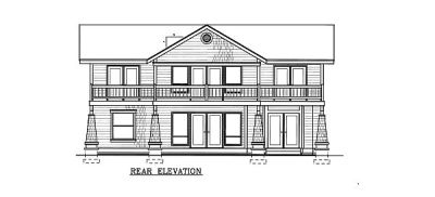 Rear Elevation Plan: 1-113