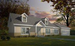 Farm Style House Plans Plan: 1-117