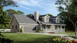 Cape-Cod Style Floor Plans 1-122