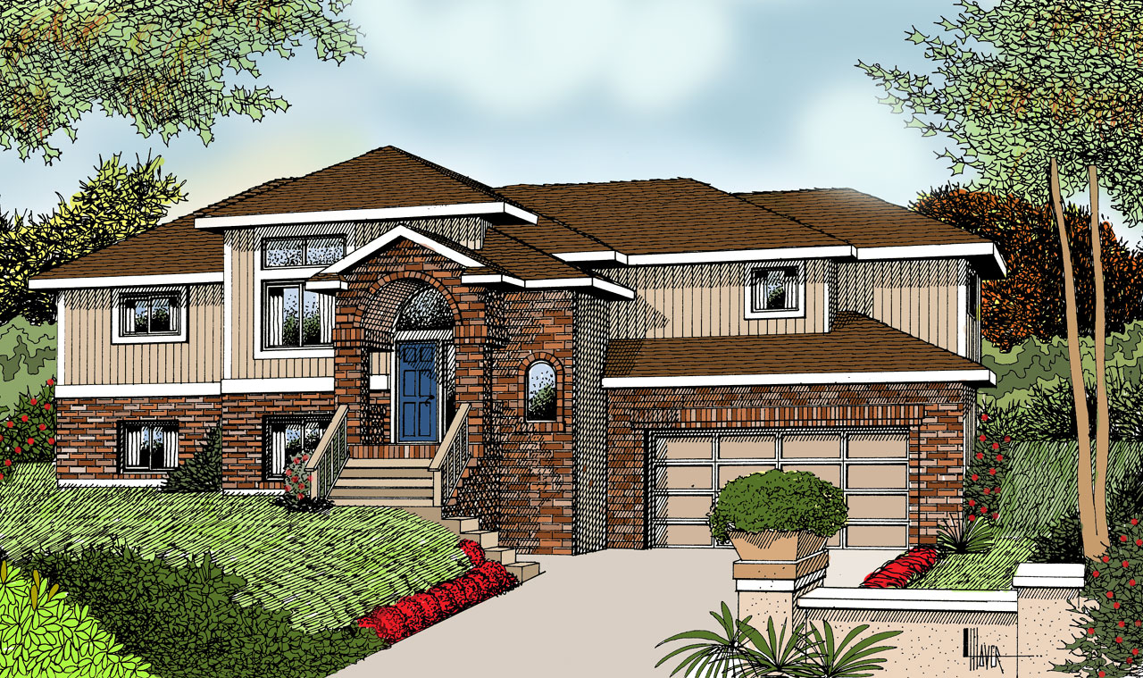 Northwest Style House Plans Plan: 1-123
