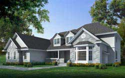 Traditional Style Floor Plans Plan: 1-124