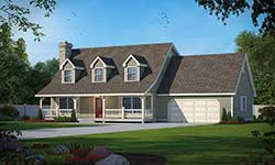 Farm Style House Plans 1-130