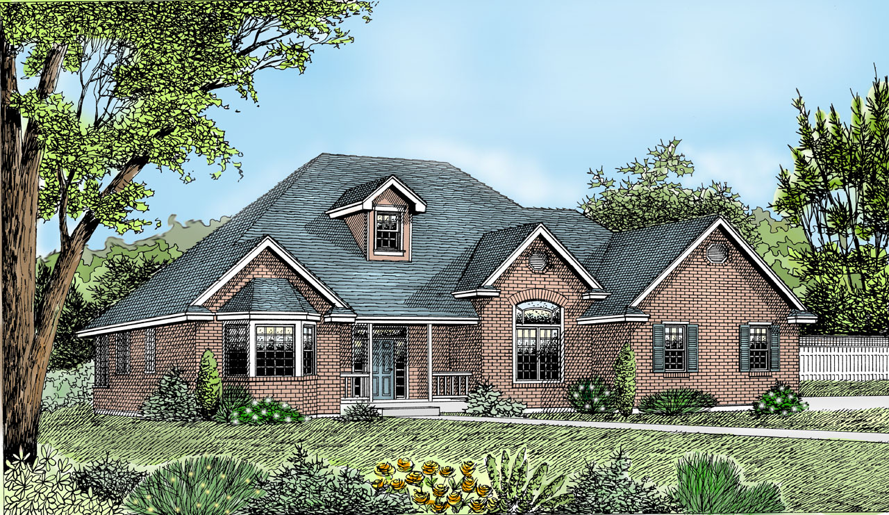 Traditional Style Floor Plans Plan: 1-135