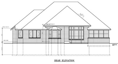 Rear Elevations Plan:1-135