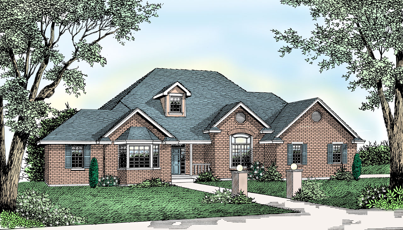 Traditional Style Floor Plans Plan: 1-136
