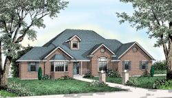 Traditional Style Floor Plans 1-136