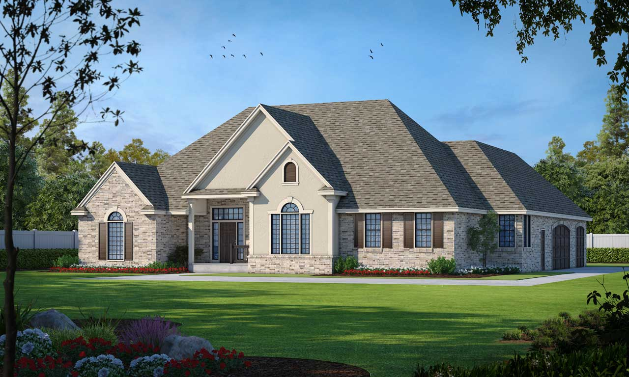 Traditional Style Floor Plans Plan: 1-137