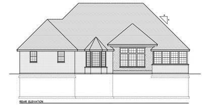 Rear Elevation Plan: 1-137