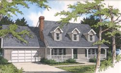 Country Style Floor Plans 1-144
