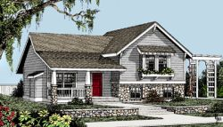 Craftsman Style House Plans Plan: 1-147