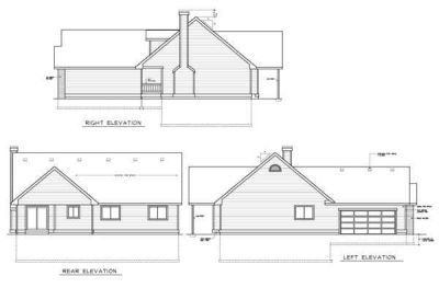Rear Elevation Plan: 1-149