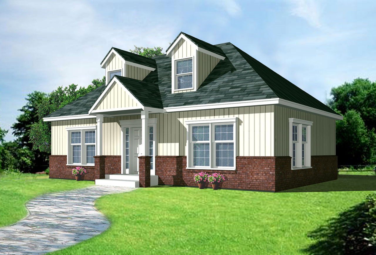 Cape-cod Style Floor Plans 1-159