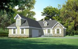 Traditional Style House Plans Plan: 1-160