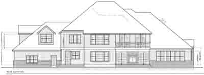 Rear Elevation Plan: 1-162