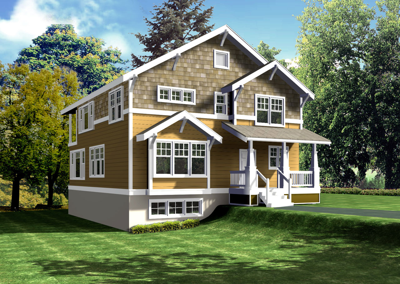 Shingle Style Floor Plans Plan: 1-165