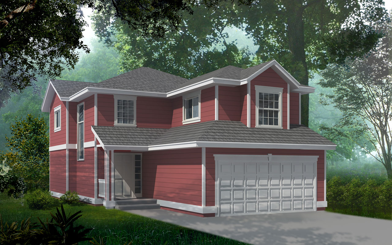 Traditional Style House Plans Plan: 1-169