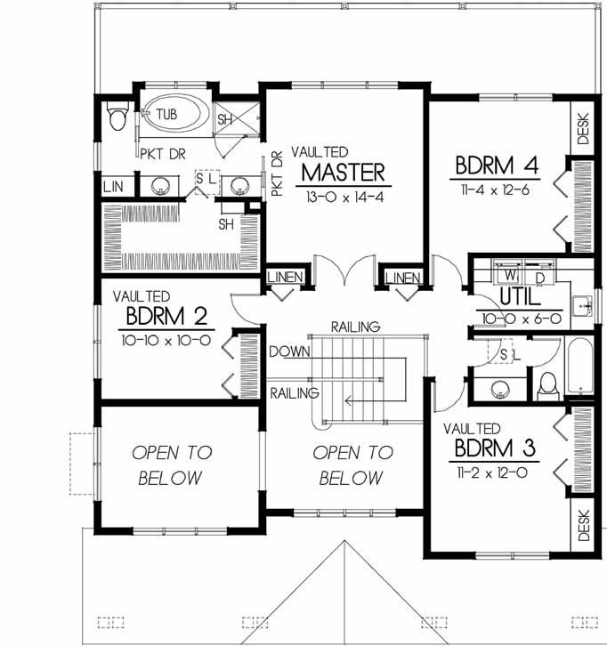 Upper/Second Floor Plan: 1-173