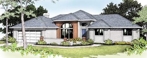 Northwest Style House Plans Plan: 1-181