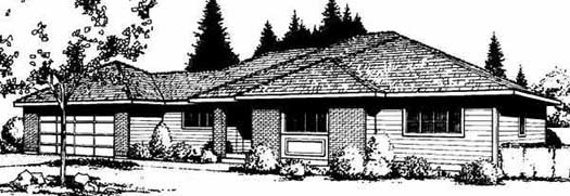 Traditional Style House Plans Plan: 1-183